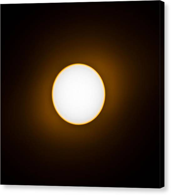 Solar Canvas Print by Christine Buckley