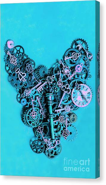 Steampunk Canvas Print - Solid State by Jorgo Photography - Wall Art Gallery