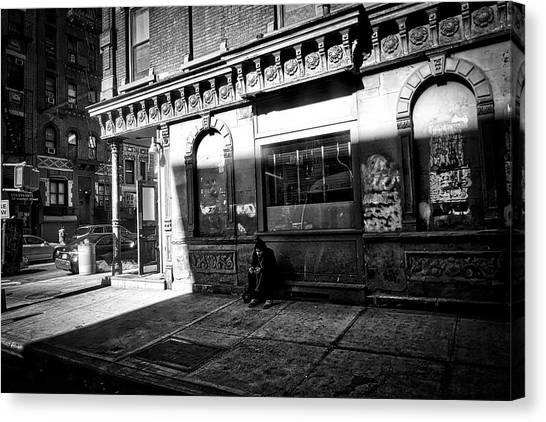 Solitary Man Canvas Print