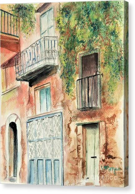 Sorrento Charm Canvas Print