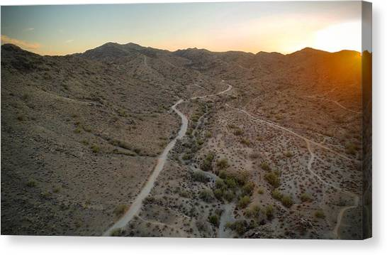 South Mountain Canyon Canvas Print