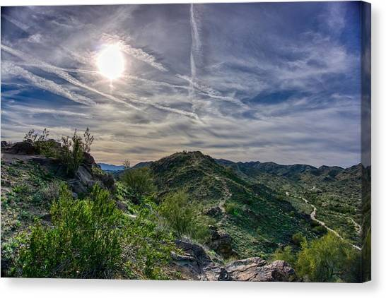 South Mountain Depth Canvas Print