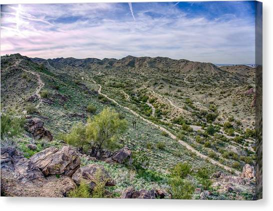 South Mountain Landscape Canvas Print
