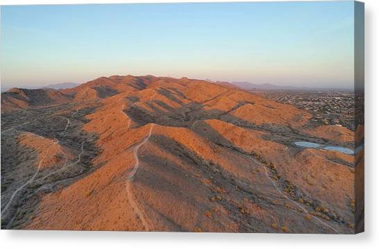 South Mountain Sunrise Canvas Print