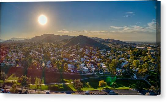 South Mountain Sunset Canvas Print