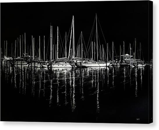 South Yacht Club Canvas Print