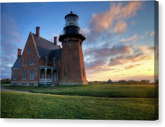 Southeast Light Sunrise Canvas Print