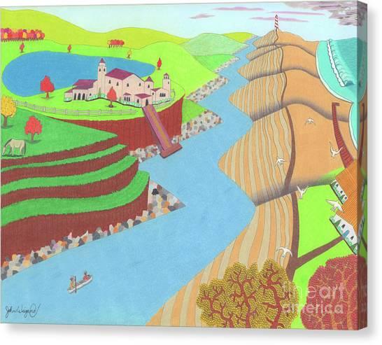 Spanish Wells Canvas Print