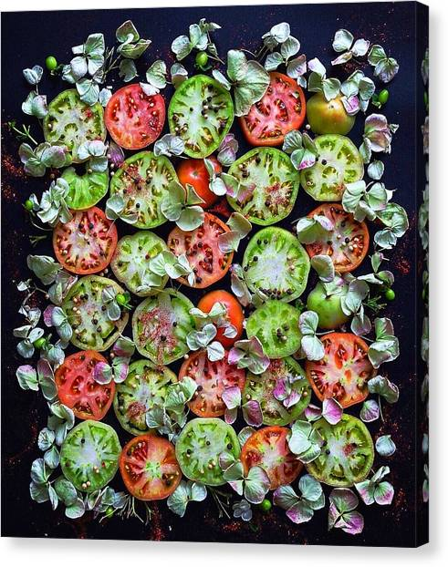 Spiced Tomatoes Canvas Print
