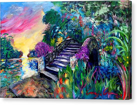 Spirit Bridge Two Canvas Print