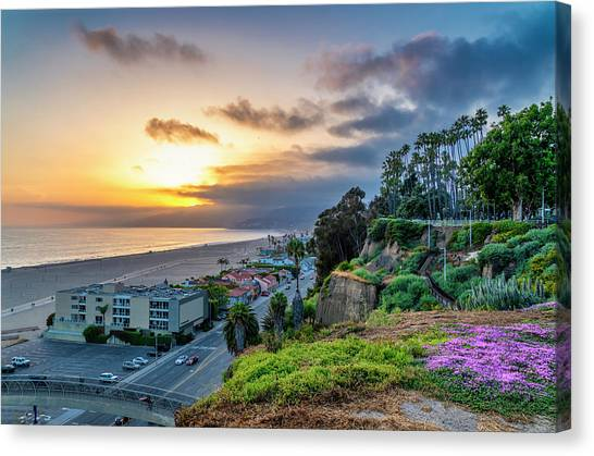Spring In The Park On The Bluffs Canvas Print
