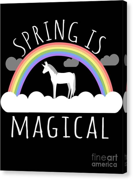 Spring Is Magical Canvas Print
