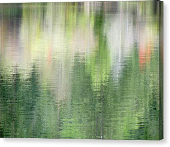 Spring Lake_3874_12 Canvas Print