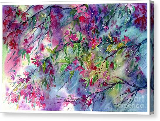 Sun Canvas Print - Spring Storm by Suzann Sines