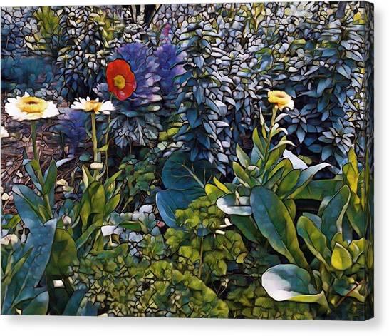Sprint Into Spring Canvas Print