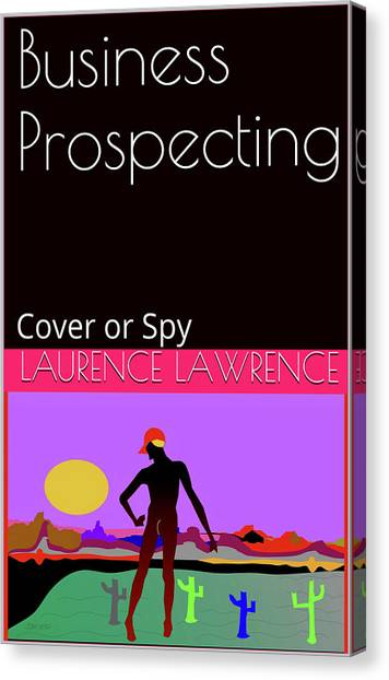 Canvas Print - Spy 01 by Laurence Lawrence