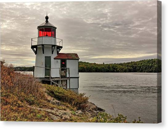 Squirrel Point Light Canvas Print