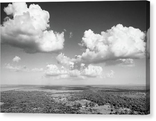 Sri Lankan Clouds In Black Canvas Print