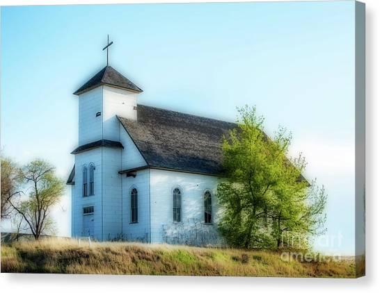 St. Agnes. Church Canvas Print