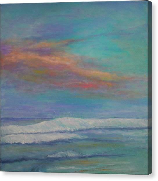 St. Augustine Sunset Canvas Print