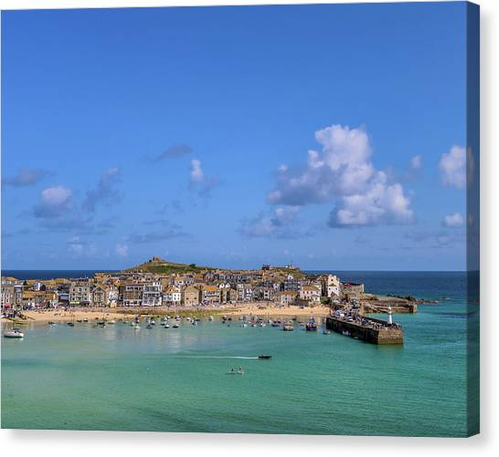 St Ives Cornwall - General View Canvas Print