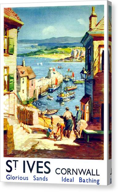 St Ives Canvas Print - St. Ives by Long Shot