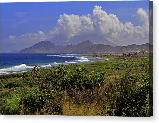 Canvas Print featuring the photograph St Kitts  by Tony Murtagh