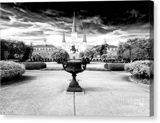 St. Louis Cathedral Dimensions New Orleans Canvas Print
