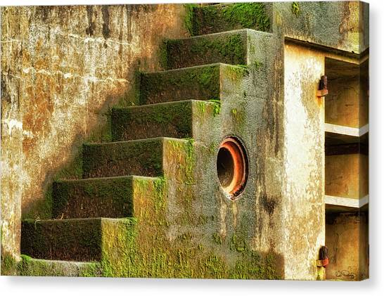 Stairway Abstract Canvas Print
