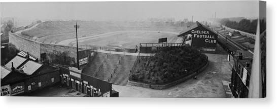 Stamford Bridge View Canvas Print by Alfred Hind Robinson