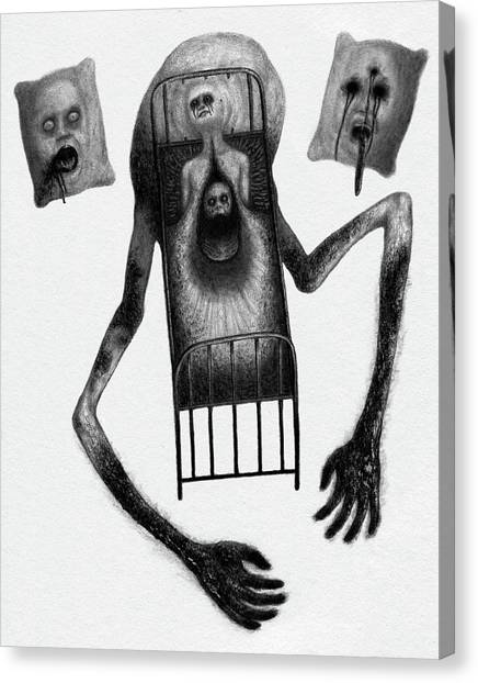 Stanley The Sleepless - Artwork Canvas Print