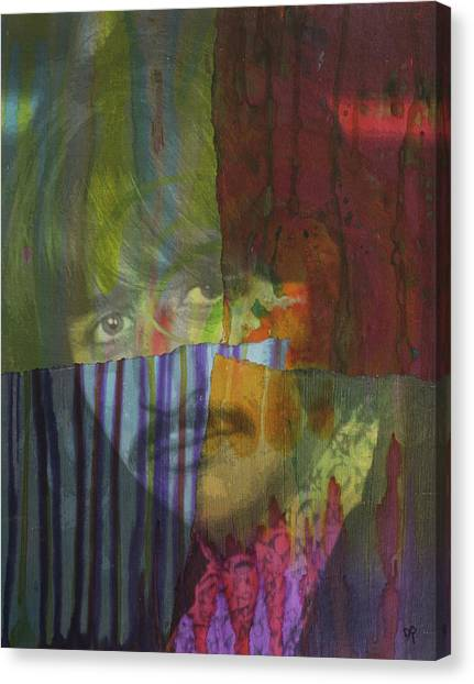 Ringo Starr Canvas Print - Starr Dript by Dean Russo Art