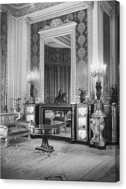 State Apartments Canvas Print by Arthur Tanner