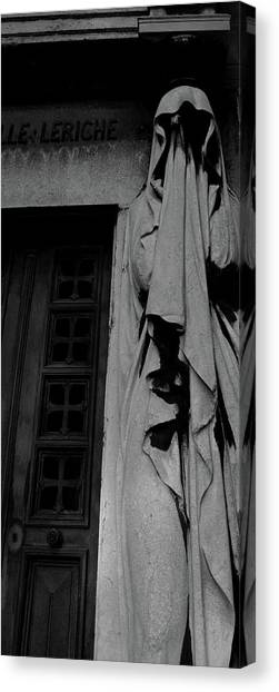 Statue, Pass By Canvas Print
