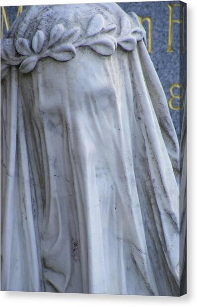Statue, Remorse  Canvas Print