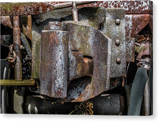 Trainspotting Canvas Print - Steel Handshake - Color by Enzwell Designs