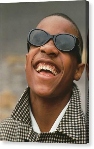 Stevie Wonder Canvas Print by Archive Photos