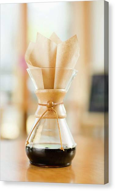 Still Life With Chemex Coffeemaker Canvas Print