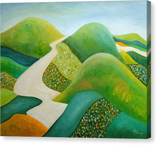 Stilling Hills Canvas Print