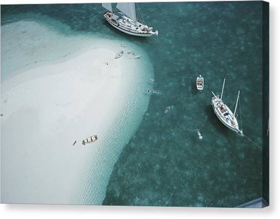 Stocking Island, Bahamas Canvas Print