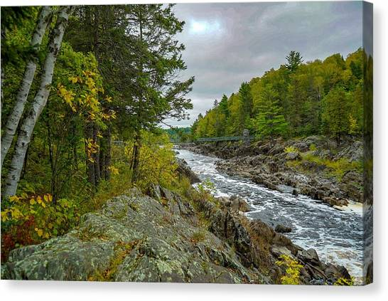 Storm Clouds At Jay Cooke Canvas Print