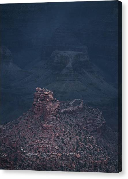 Storm Has Arrived, Grand Canyon Canvas Print