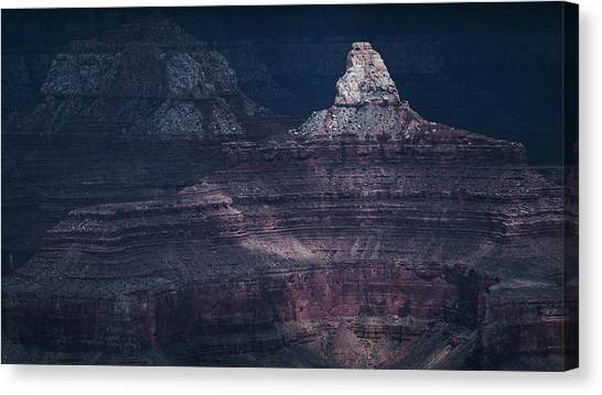 Storm In The Grand Canyon II Canvas Print
