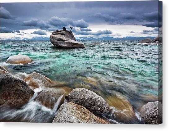 Storm, Lake Tahoe Canvas Print