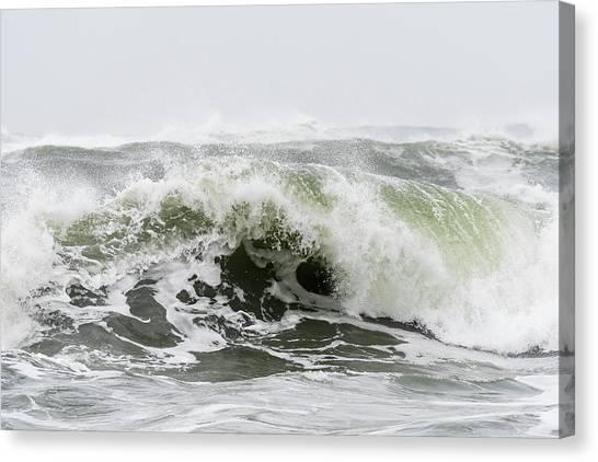 Storm Surf Spray Canvas Print