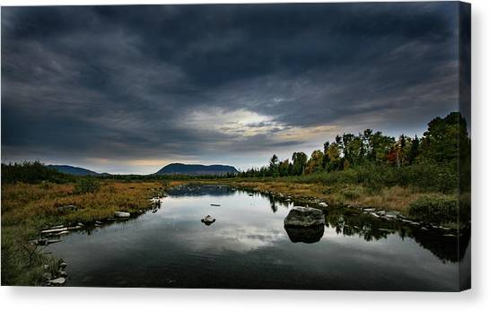 Stormy Day In Maine Canvas Print