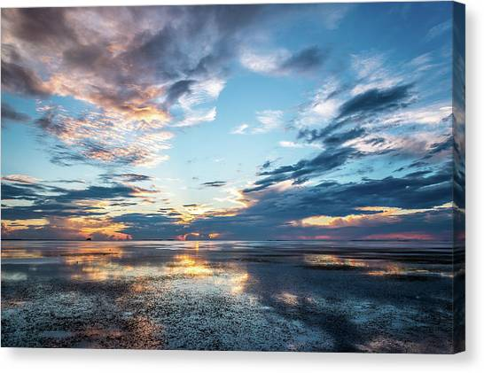 Stormy Reflections Canvas Print