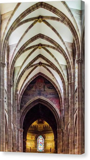 Strasbourg Cathedral - 2 Canvas Print