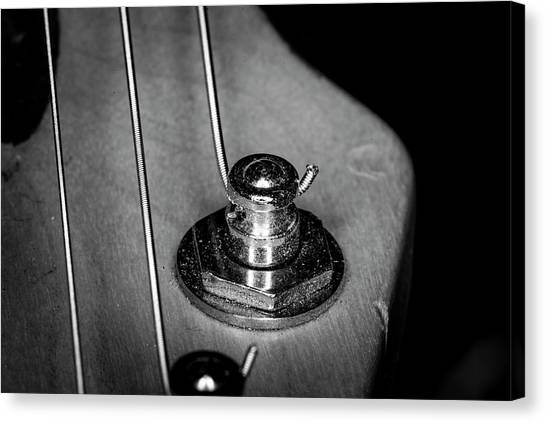Canvas Print featuring the photograph Strings Series 10 by David Morefield