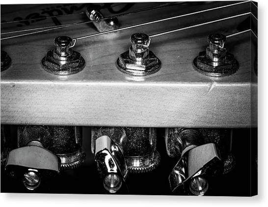 Canvas Print featuring the photograph Strings Series 11 by David Morefield
